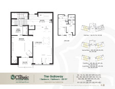 The Galloway floor plan.