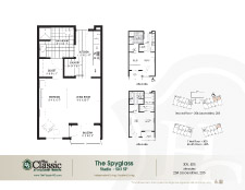 The Spyglass floor plan.