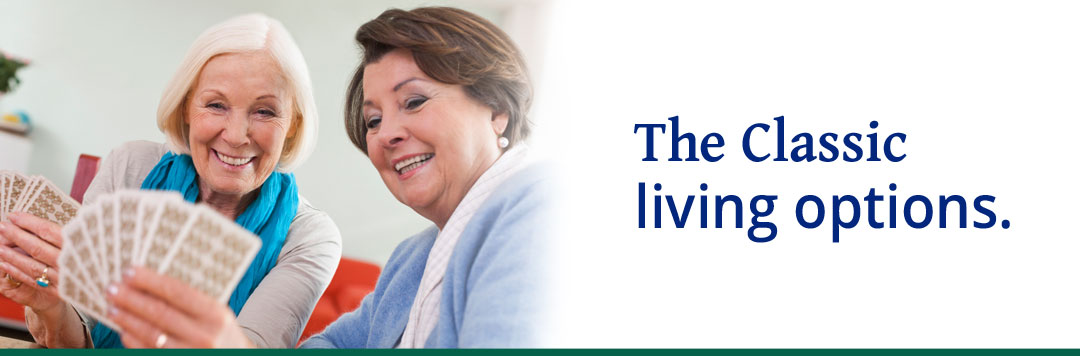 Eau Claire senior living options include independent living, assisted living and memory care