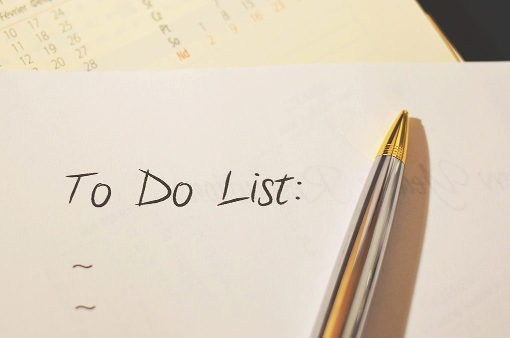 A 2019 To-Do List